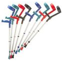 Coloured Crutches
