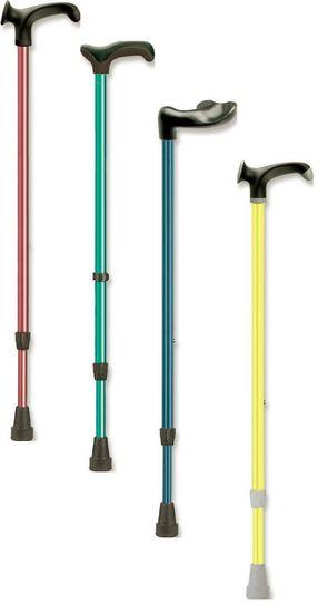 Adjustable Coloured Walking Sticks from Kowsky