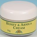 Honey and Arnica Cream