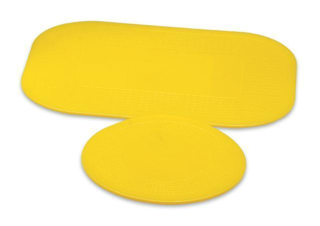dycem yellow non slip mats and roll rectangular and round mat
