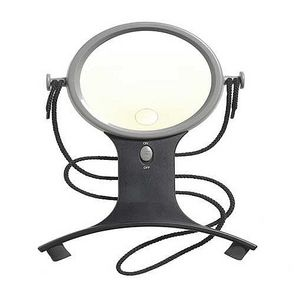 Hands-Free Illuminated Magnifier