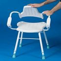 Prima Perching Stool - Steel