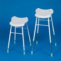 Prima Perching Stools - Steel