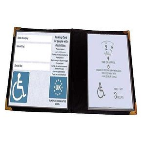 Disabled Park Wallet