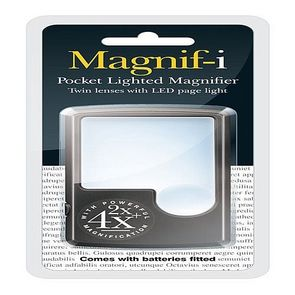 Pocket LED Magnifier from Magnif-i