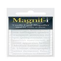Credit Card Magnifier from Magnif-i