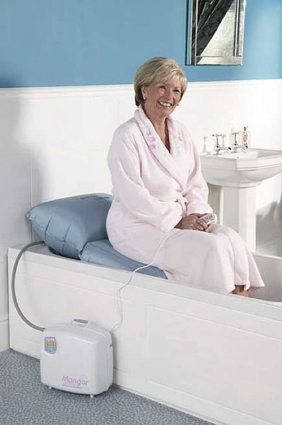 Bathing Cushion From Mangar Bath Lifts Amp Inflatable Bath