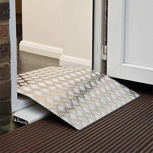 Designed to position over door thresholds & Doorline-Bridge - Threshold Ramps - Ramps - OTS Ltd