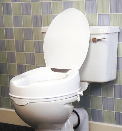 Savanah Raised Toilet Seat With Lid Raised Toilet Seats