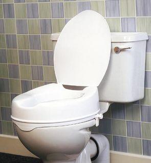 Savanah Raised Toilet Seat With Lid Raised Toilet Seats