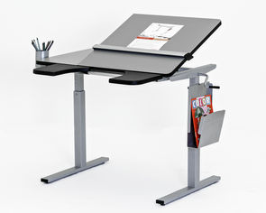 NEW Ropox Height Adjustable Ergo Tables: Picture shows some optional accessories fitted