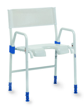 Aquatec Galaxy Folding Shower Chair: Folds for transport or storage