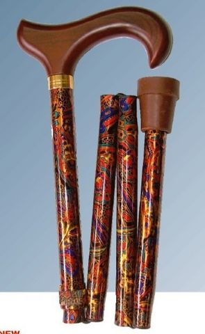 Folding Patterned Stick: Folding Patterned Stick