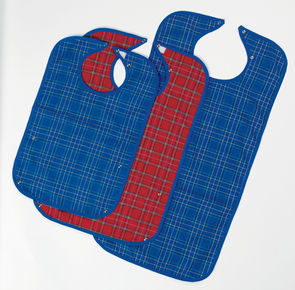 Washable Bibs: Medium and Large in stock- middle and right on image