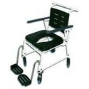 Combi Attendant Shower Commode Chair