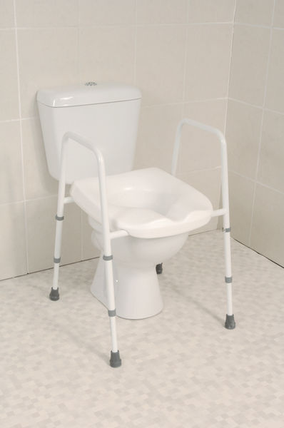 Mowbray Toilet Seat And Frame Toilet Support Frames